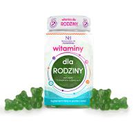 Vitamine per la famiglia in forma di gelatine