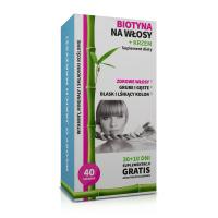 Biotina per i capelli + silicio