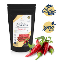 GLUTEN FREE CRACKERS ENRICHED WITH CHILI PEPPER