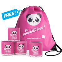 3x Hair Care Panda + 1 CONFEZIONE & ZAINO GRATIS