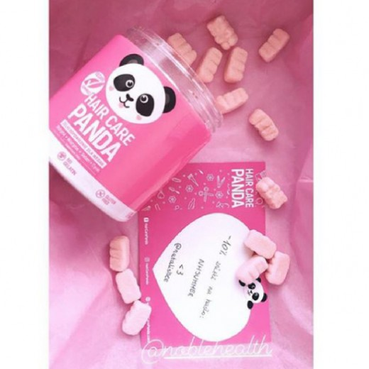 Hair Vitamins Dalam Bentuk Gummies Hair Care Panda Vegan Gummies Dari Noble Health