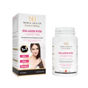 Kolagen Rybi Keratyna Noble Health Naturalne Dermokosmetyki I Suplementy Diety